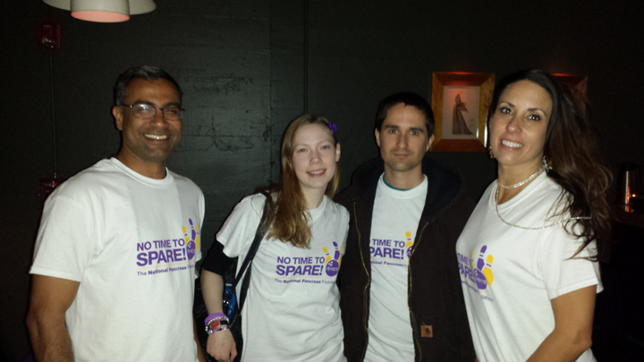Striking Out Pancreatic Disease T-Shirt Photo