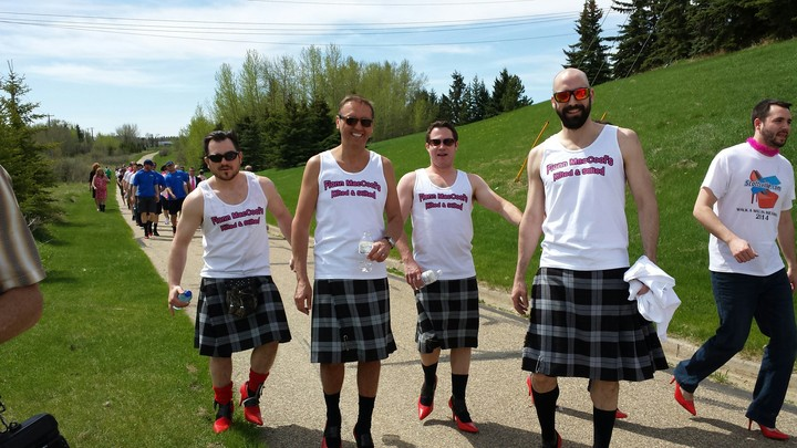 Kilted And Stilted T-Shirt Photo