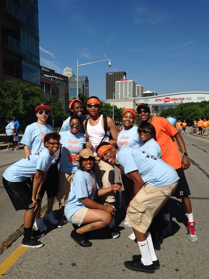 Walking For A Ms Cure T-Shirt Photo