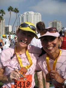 Winners In Pink T-Shirt Photo