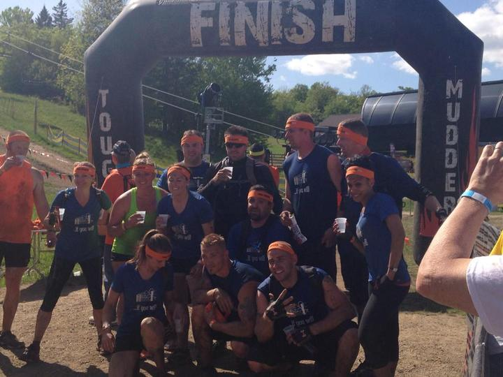 "Team ""If You Will"": Tough Mudder 2014 T-Shirt Photo"