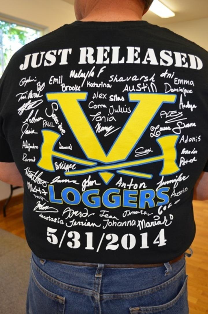 Additional Vernonia High School Grad Night T Shirt T-Shirt Photo