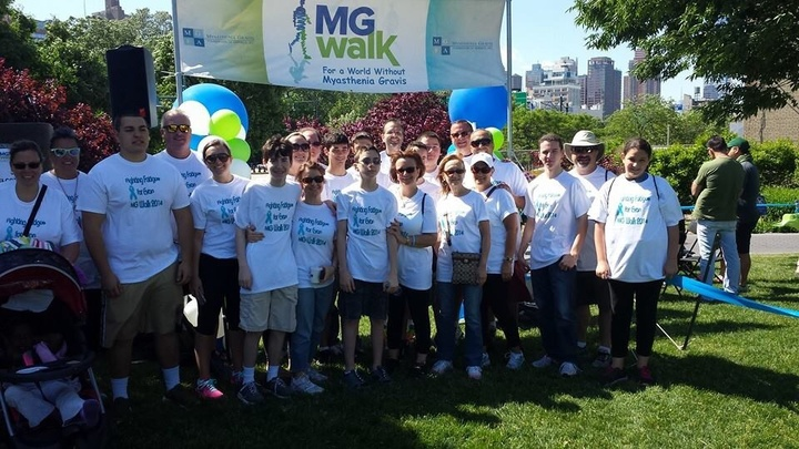 Mg Walk 2014  Fighting Fatigue For Evan T-Shirt Photo
