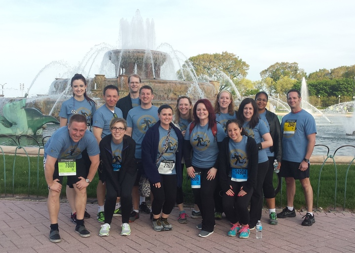 Chase Corporate Challenge 2014 T-Shirt Photo