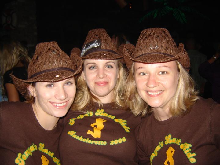 Tonya's Bachelorette Party T-Shirt Photo
