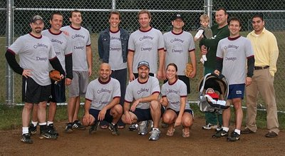 2007 Collateral Damage Softball T-Shirt Photo