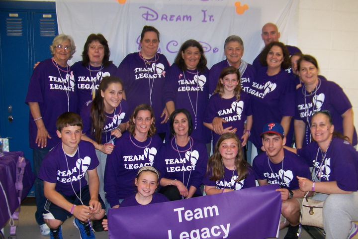 Team Legacy  Relay For Life 2014 T-Shirt Photo