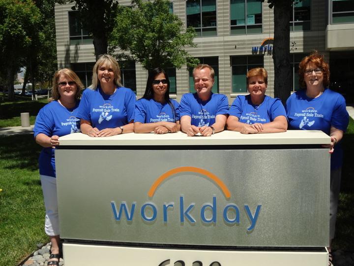 Workday Gcc Payroll Sole Train Team T-Shirt Photo