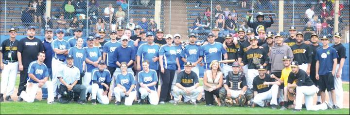 La County Blues (First Responders) Vs Trinidad Triggers (Independent Minor Leagues) T-Shirt Photo