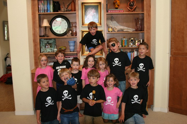 Pirate Party T-Shirt Photo