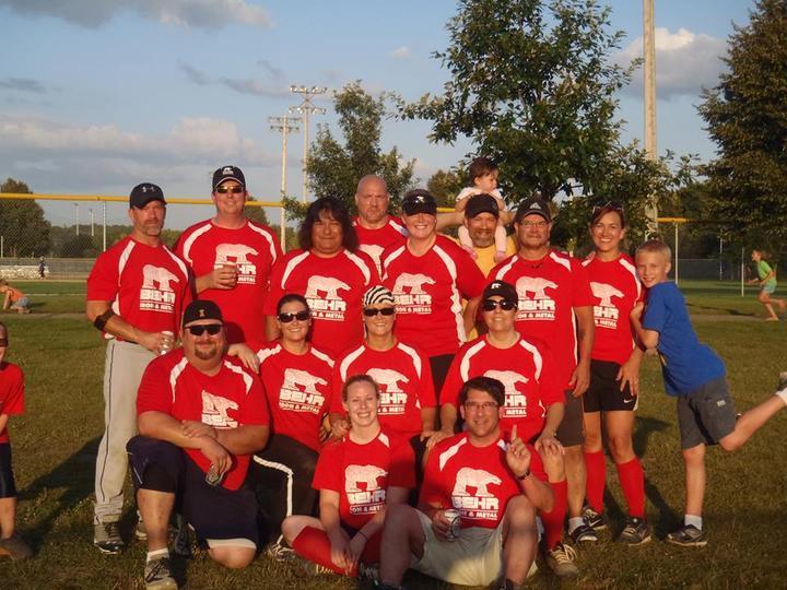 Behr Iron & Metal Softball Team T-Shirt Photo