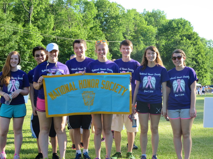 National Honor Society Relay 4 Life T-Shirt Photo