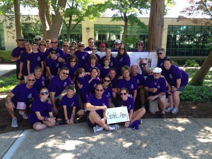 Scott's Army   In Loving Memory Of Scott Cuje T-Shirt Photo