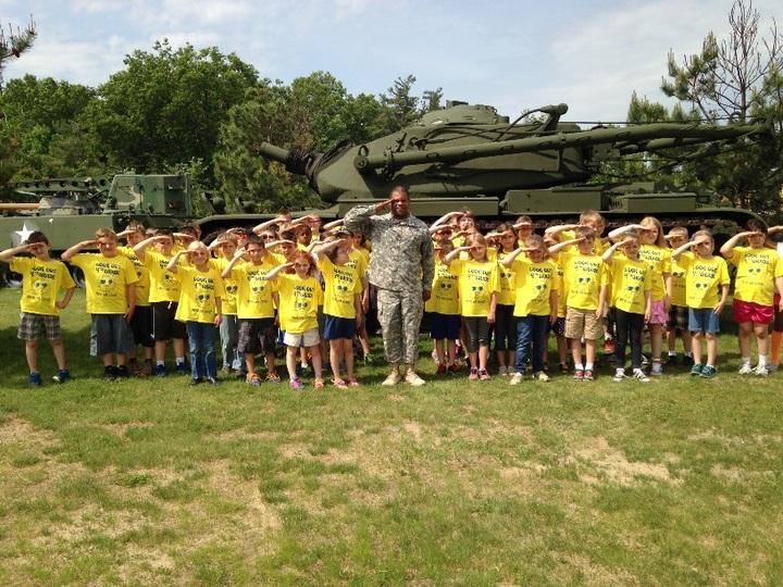Third Graders Visit Ft. Drum Ny !!!  T-Shirt Photo