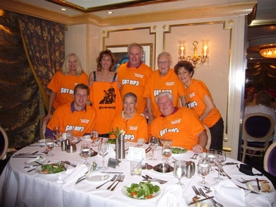 "Dorance ""Dip""  Alquist's 90th Birthday Cruise T-Shirt Photo"
