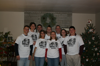 Casey Christmas T-Shirt Photo
