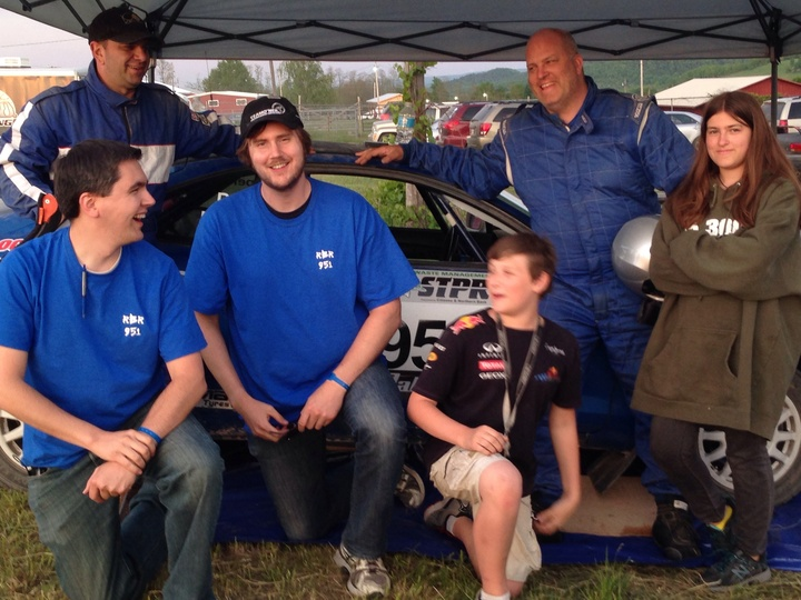 We Love Our Custom Ink Rbr Shirts...And Rally Racing! T-Shirt Photo