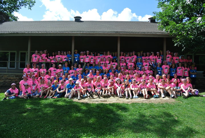 Girls Youth Camp T-Shirt Photo