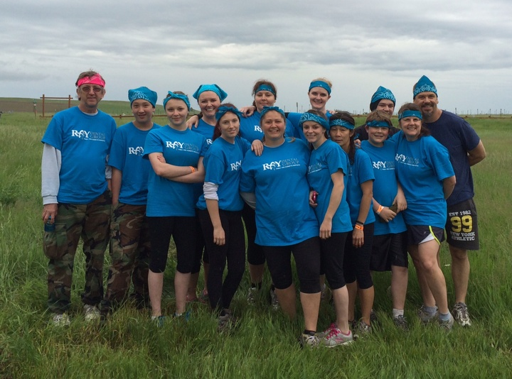 Ray Dental Group 5k Mudrun T-Shirt Photo