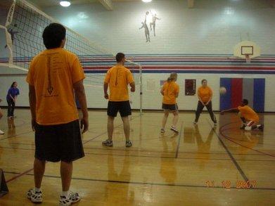 Ganglia Volleyball Team T-Shirt Photo