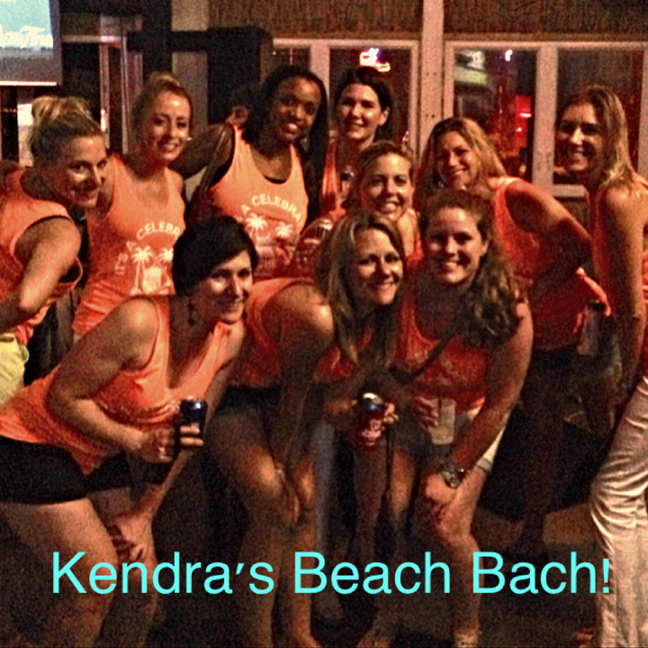 Kendra's Beach Bach! T-Shirt Photo