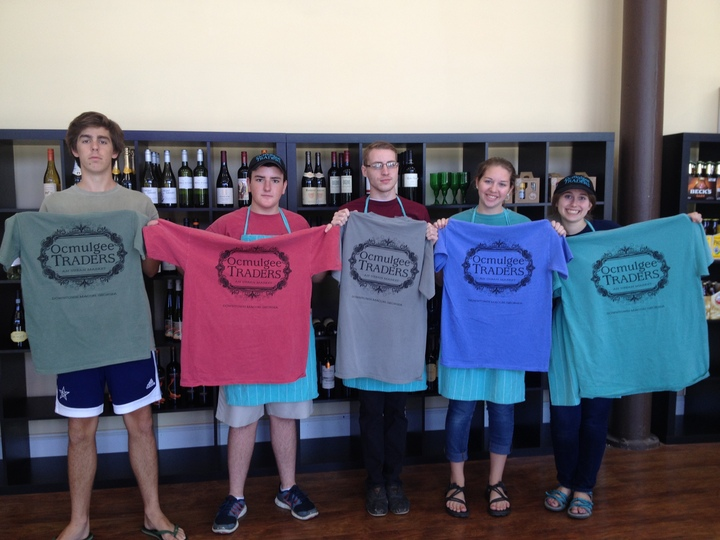 New Shirts For The Ocmulgee Traders' Crew T-Shirt Photo