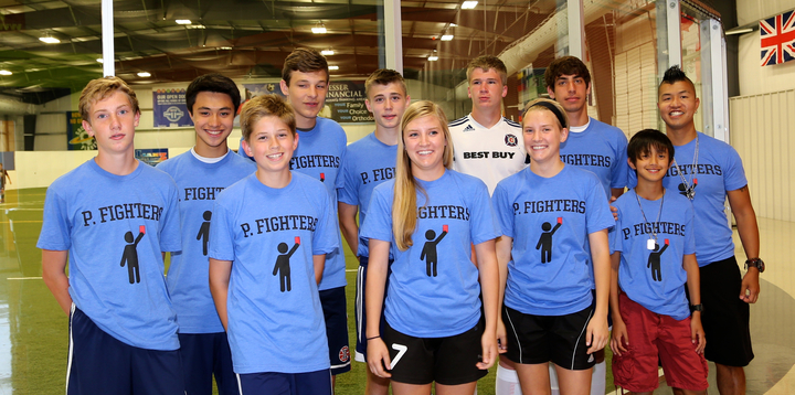 P. Fighters Indoor Soccer Team T-Shirt Photo