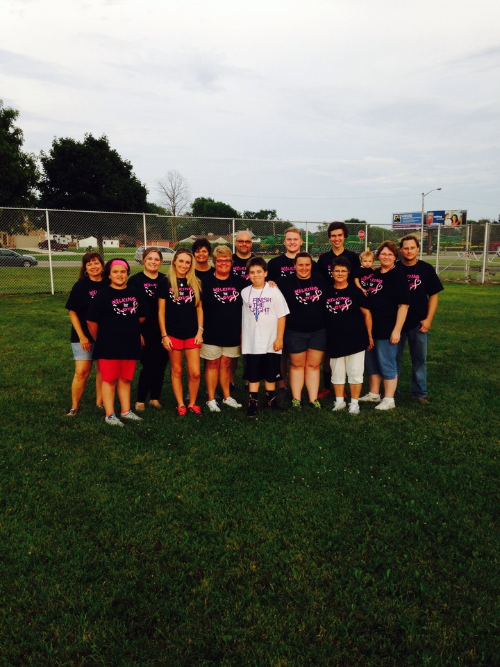 Relay 2014 Team Walking For Love T-Shirt Photo