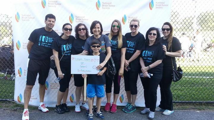 Brain Tumor Walk 2014   Tonya's Team!  T-Shirt Photo