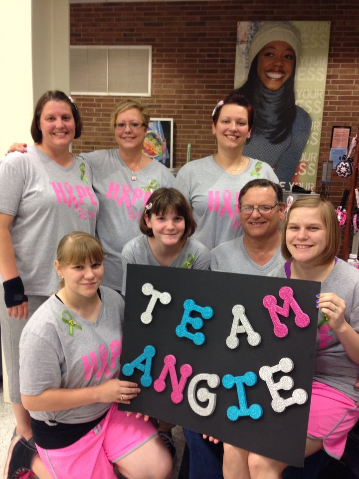 Team Angie T-Shirt Photo