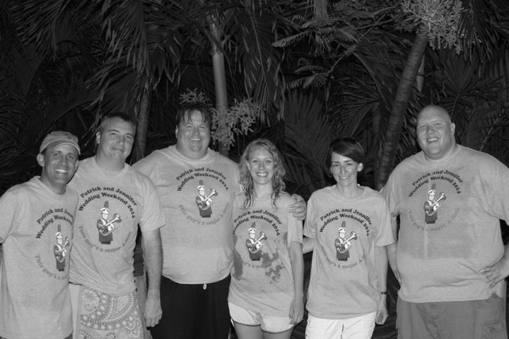 Pat And Jen's Wedding Weekend T-Shirt Photo