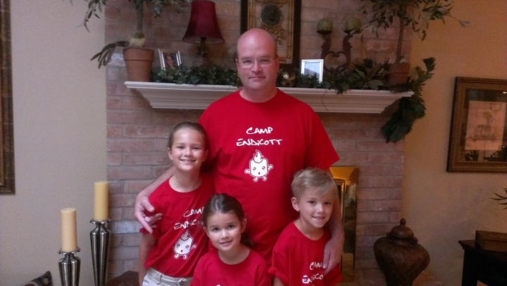 Father's Day At Camp Endicott T-Shirt Photo