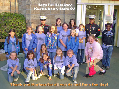 Troop 842 Does Toys 4 Tots T-Shirt Photo