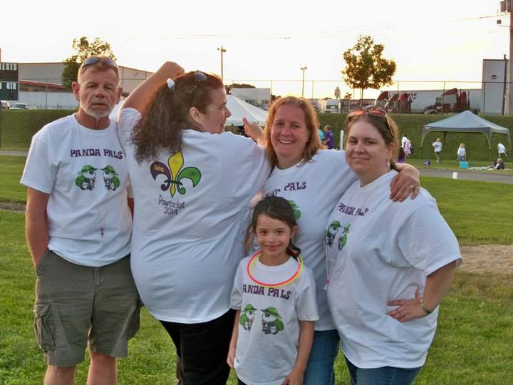 Pawtucket Rfl 2014 Team Panda Pals T-Shirt Photo