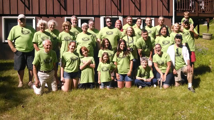 2014 Burleigh Family Reunion T-Shirt Photo