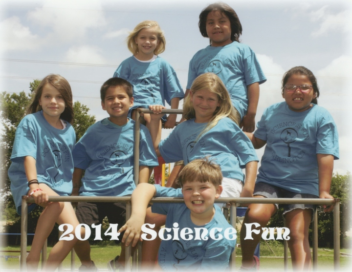 Summer Science Fun 2014 T-Shirt Photo