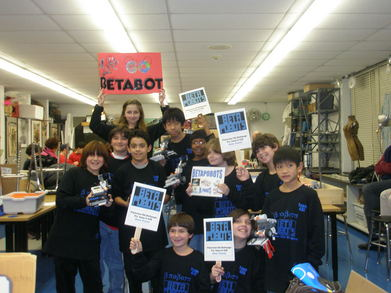 Beta Pobots Robotics Team T-Shirt Photo