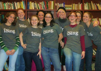 Luchsingers A Cappella Sport Their New Shirts T-Shirt Photo