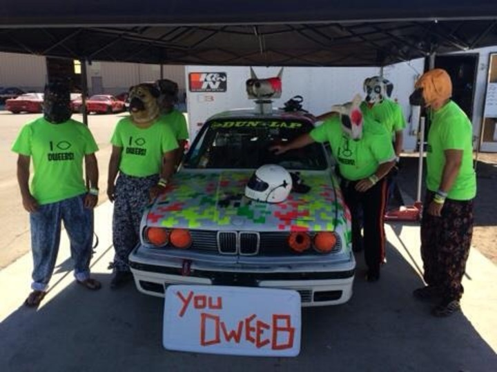 Dweebs At The 24 Hours Of Lemons   Buttonwillow T-Shirt Photo