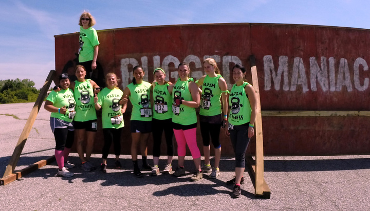 Rugged Maniac Race Nyc  T-Shirt Photo