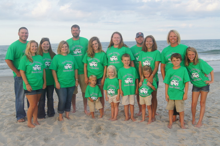 """The County"" Beach Vacation 2014 T-Shirt Photo"
