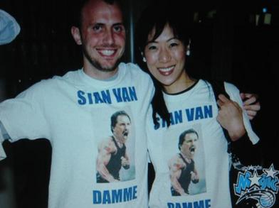 Stan Van Damme T-Shirt Photo