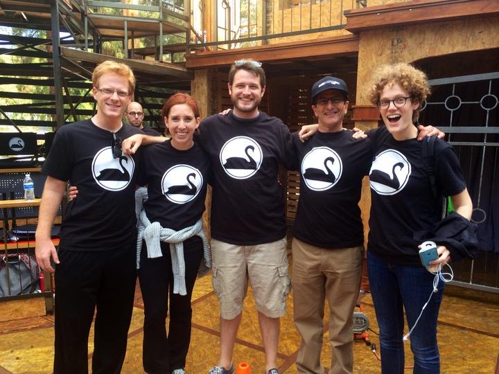 New Swan Shakespeare Shirts T-Shirt Photo