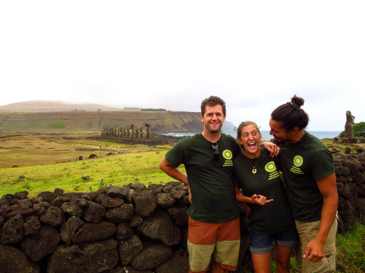 Solar Rapa Nui : D ! T-Shirt Photo