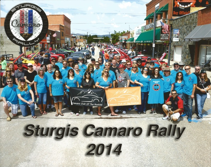 2014 Sturgis Camaro Rally T-Shirt Photo