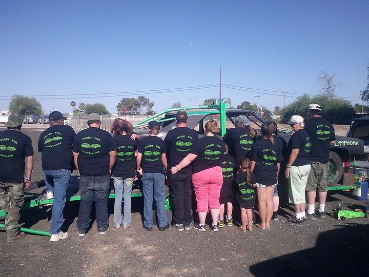 Team Derby For Lymphoma T-Shirt Photo