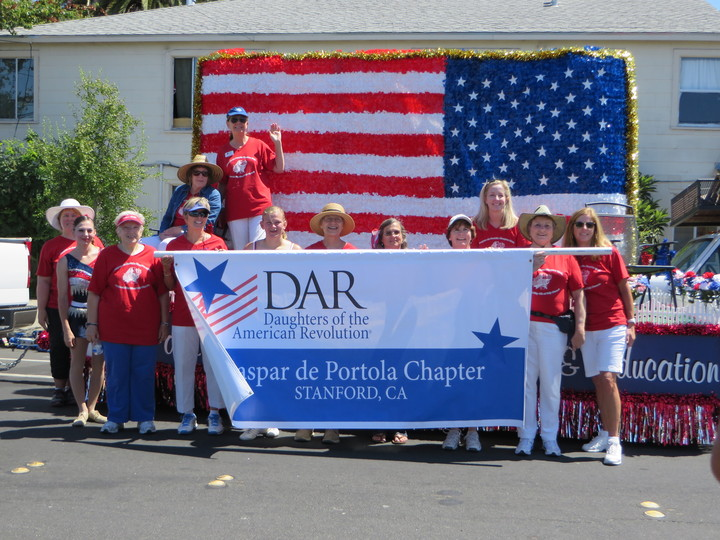 Redwood City 4th Of July Parade, Dar  T-Shirt Photo
