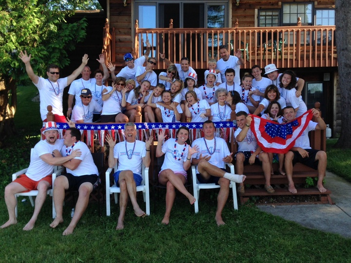 Happy Fourth From Corey Lake T-Shirt Photo