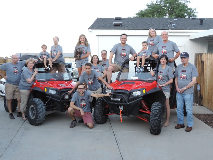 The Rock Rat Rzr Clan T-Shirt Photo