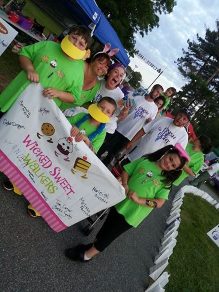 Wicked Sweet Walkers   Upper Cape Relay T-Shirt Photo